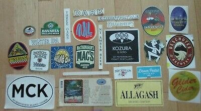 25 BEER STICKER PACK LOT decal craft beer brewing brewery tap handle 31
