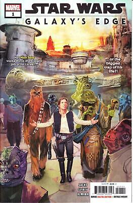 STAR WARS GALAXY'S EDGE #1 1st PRINT COLLECTORS ITEM ISSUE DISNEY WORLD LAND