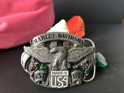 Old Original Harley Davidson Belt Buckle