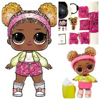 LOL Surprise Court Champ Glam Glitter Series Doll Ball Big Sister Athletic NEW