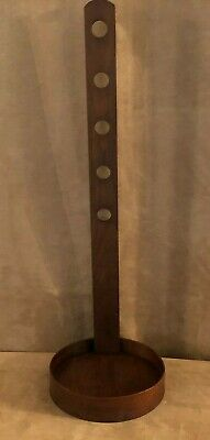 Wooden Shaker Candle Sconce Handmade Pleasant Hill Kentucky peg rack hanging