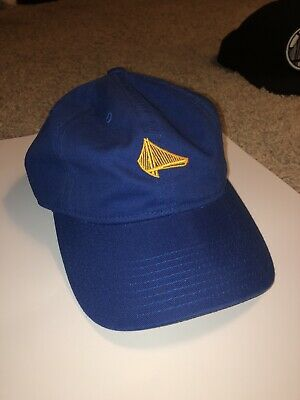 819457bb Golden State Warriors Mitchell & Ness Slouch Strapback Elements Dad Hat Blue