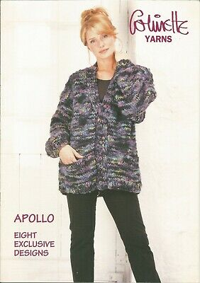 """Womens 32-42/"""" Colinette Yarns LIFESTYLES Knitting Pattern Book Designs Sweaters"""