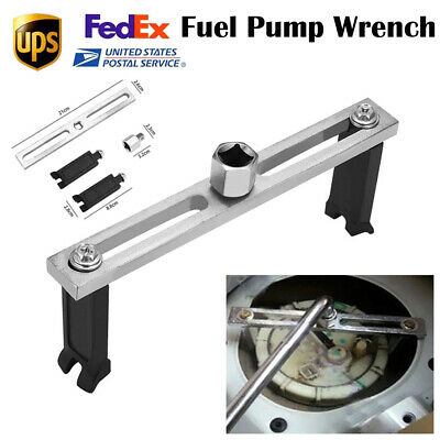 Universal Car Fuel Pump Lid Adjustable Tank Cover Remover Spanner Wrench Tool US