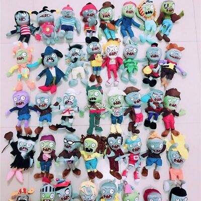 30cm Plant vs Zombies 2 Plush Toys Stuffed Soft Doll Toy Gift for Kids Boy Girl