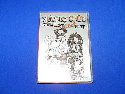 Motley Crue Greatest Video Hits - Dvd -Hard To Find  Explicit Version