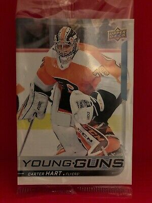 2018-19 Upper Deck Series 2 Young Guns Oversized 491 Carter Hart YG RC Jumbo