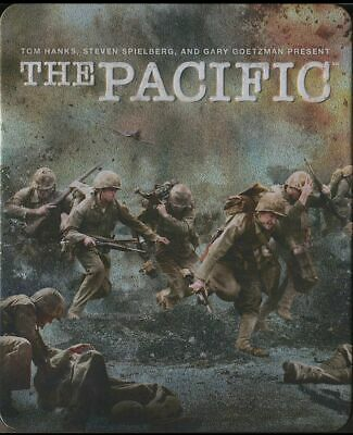 The Pacific (Blu-ray Disc, 2010, 6-Disc Set, Canadian, HBO Films)