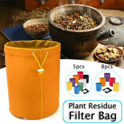 1/5 Gallon 4/5/8 Bags Filter Hash Bag Ice Bubble Herbal Plant Extraction Kit