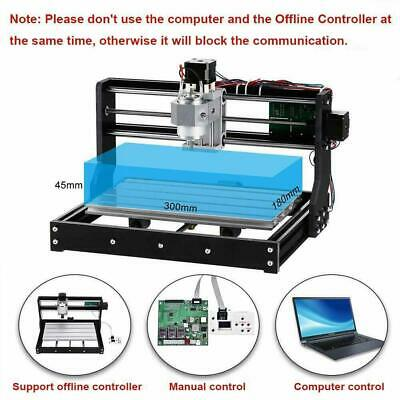 new CNC Router 3018-PRO Wood Engraver PCB Milling Machine With Offline Control