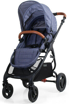 Valco Baby Snap Ultra Trend Compact Fold Lightweight Single Stroller Denim