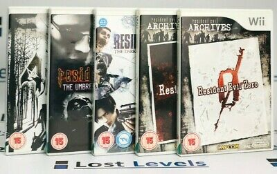 Wii - Resident Evil Series - Same Day Dispatched - boxed - VGC - *Multi Listing