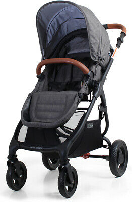 Valco Baby Snap Ultra Trend Compact Fold Lightweight Single Stroller Charcoal