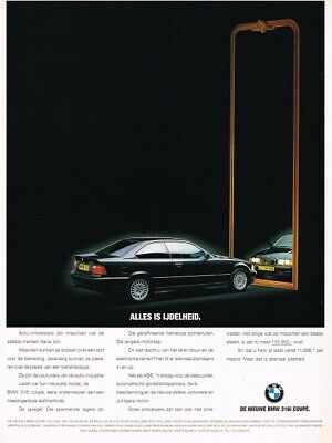1993 BMW E36 316i Coupe (NL, 1pg.) Advertisement 3243