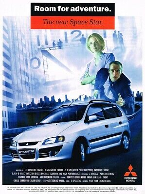 2002 Mitsubishi Space Star (NL, 1pg.) Advertisement 3285