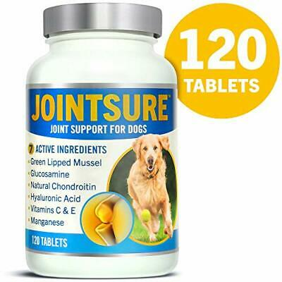 JOINTSURE Joint supplements for dogs. Advanced formula with Green 120 Tablets