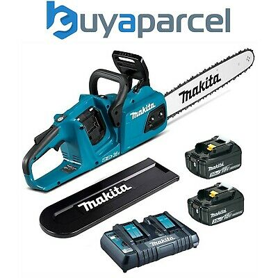 Makita DUC302 18V Twin Chainsaw 300mm With 2 x 3Ah Batteries
