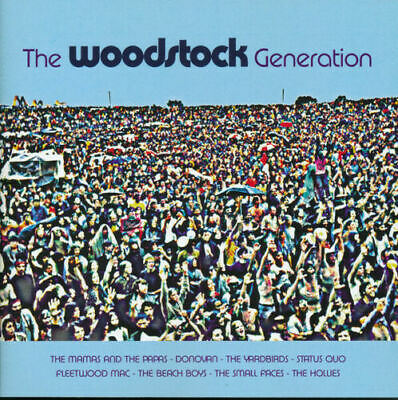 The Woodstock Generation - Donovan Canned Heat Hollies Turtles CD Album DJ DISCO