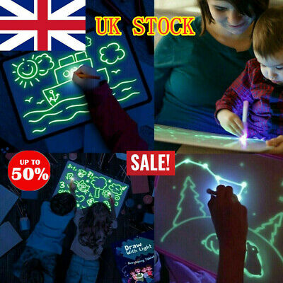 Draw With Light Fun And Developing Toy Drawing Board Magic Draw Educational UK O