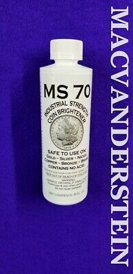 Ms 70 Coin Brightener & Cleaner Safe On Gold+Silver+Copper+Nickel