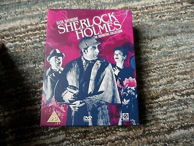 Sherlock Holmes - The Definitive Collection - Basil Rathbone - Dvd - As New