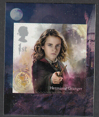 GB 2018 HERMIONE GRANGER SELF ADHESIVE 1st CLASS BOOKLET STAMP SG.No.4152 MNH