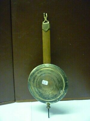 Original Antique Art Deco Wall Clock Pendulum (z3)