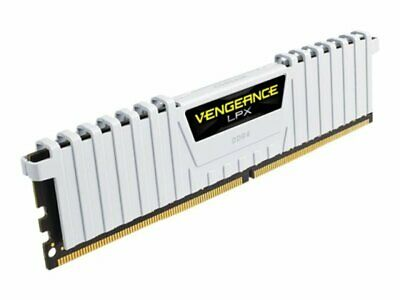 Corsair Vengeance LPX 16GB (2x8GB) DDR4 DRAM 3200MHz C16 Memory Kit - White