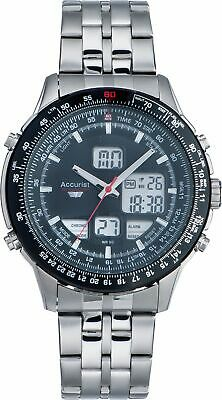 Accurist Skymaster Men's Stainless Steel Chronograph Watch.