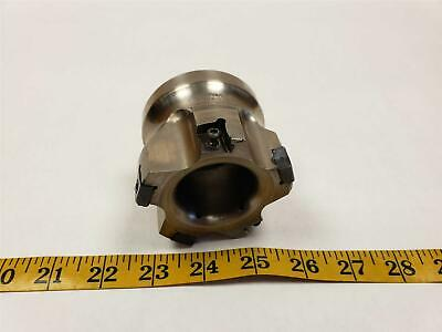 """Ingersoll V-Max 3"""" 90 Degree Indexable 5T Shell Face Mill NNE324 Insert"""