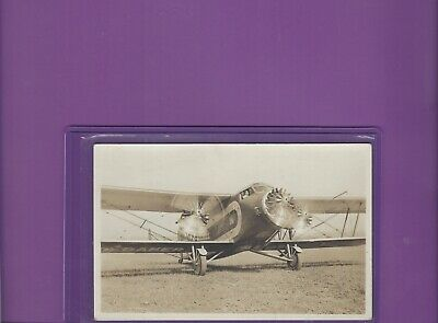 Boeing Air Transport airliner promotion tour real photo adv. postcard