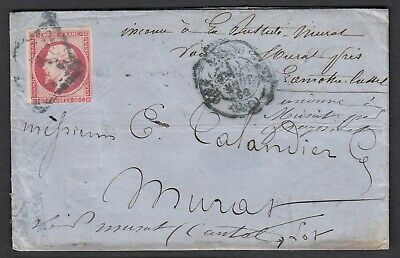 N°17B Paris Bureau D En Bleu Murat Cantal Lettre Cover France