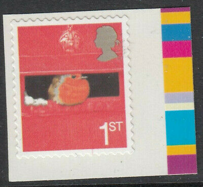 GB 2005 1st CLASS SMILERS EUROPEAN ROBIN SELF ADHESIVE BOOKLET STAMP MNH