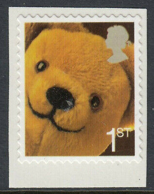 GB 2005 1st CLASS SMILERS TEDDY BEAR SELF ADHESIVE BOOKLET STAMP MNH