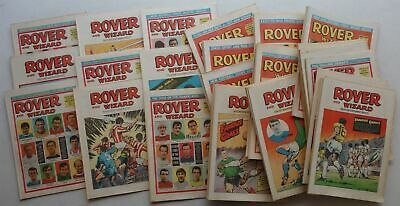 Rover (and Wizard) comic 1969 x 52 FULL YEAR Most FN (phil-comics)