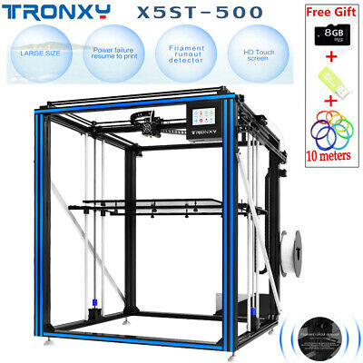 TRONXY X5ST-500 3D Printer Big Printing Size Heat Bed DIY Kits High Power  Supply