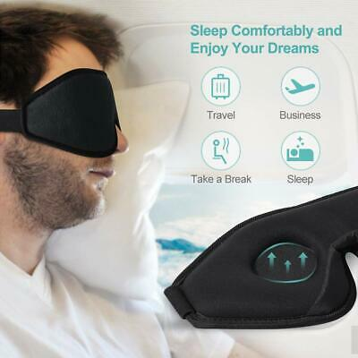 Sleep Mask Blackout Eye Shades Blindfold Complete Darkness Ultra Soft Breathable