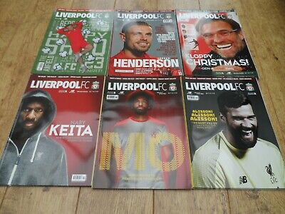 Liverpool FC - Magazine - October 2018 to April 2019 - Choose your edition