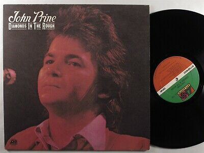 JOHN PRINE Diamonds in the Rough ATLANTIC LP VG+/VG++