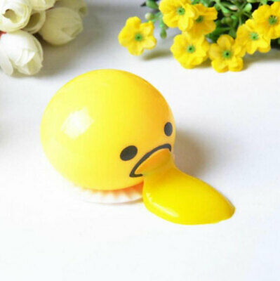 Squishy Vomitive Egg Yolk Anti Stress Reliever Joke Toy Ball Squeeze Funny Toys