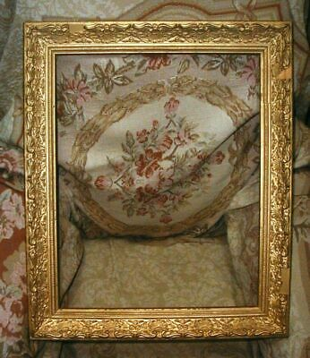 Antique Ornate Gold Gilded Wood Picture Frame 24 x 20  Rabbit is 20 x 16