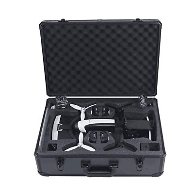 HUL Aluminum Carrying Case for Parrot Bebop 2 FPV and Skycontroller 2 with VR...