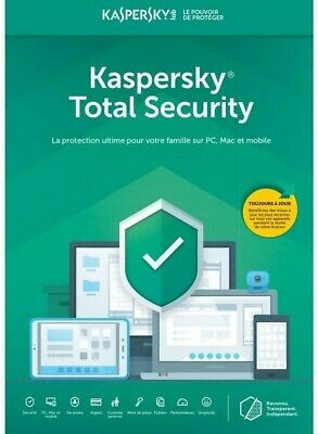 kaspersky total security 2019 1 Device 1 Year  Uk & Europe Fast  delievry