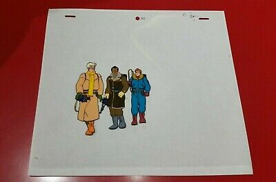The Real Ghostbusters 1987 Animation Cel with Pencil drawing #B