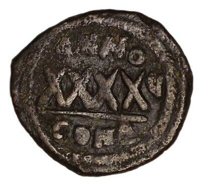 BYZANTINE EMPIRE coin FOLLIS Phocas (AD 603.)