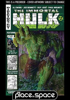 (Wk33) The Immortal Hulk: Directors Cut #1 - Preorder 14Th Aug