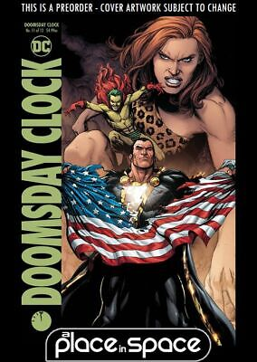 (Wk33) Doomsday Clock #11B - Gary Frank Variant - Preorder 14Th Aug