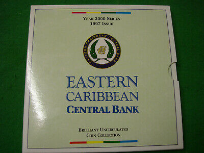 1997 Eastern Caribbean Central Bank Brilliant Uncirculated Coin Collection