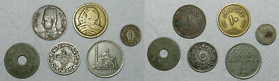 6 Old Egypt Coins