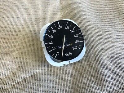 Ford Escort mk2 Speedo white needle...in KM/H.